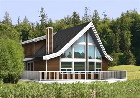 alpine post and beam retreats cottages home plans