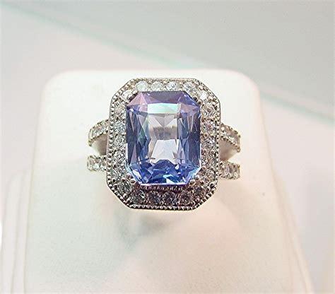 light blue sapphire rings