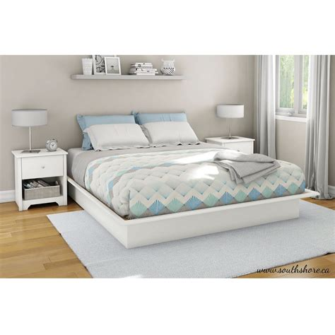 platform bed coverlet bedroom bedside table and bedding with platform bed frame