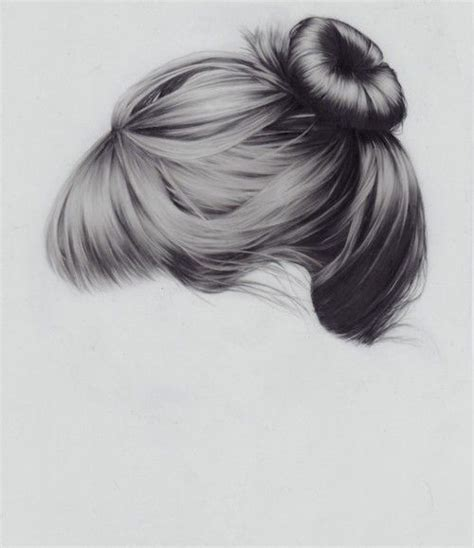how to draw doodle hair hair drawings bun images