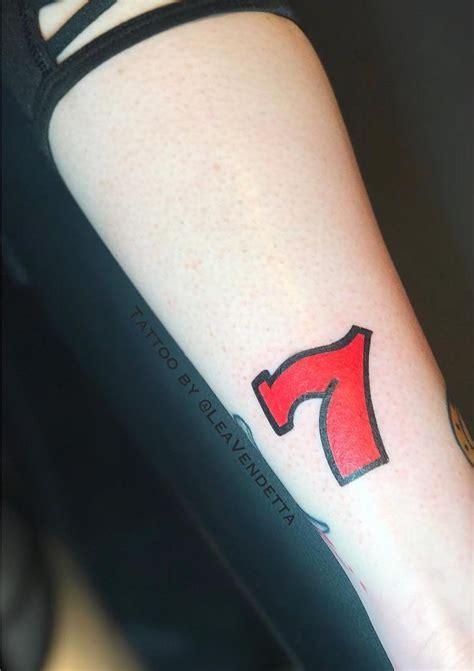 lucky 7 tattoo the best lucky tattoos insider
