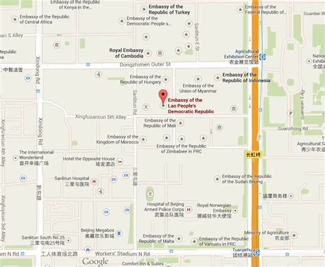 map of us embassy in beijing map of us embassy in beijing u s embassy beijing mapio net