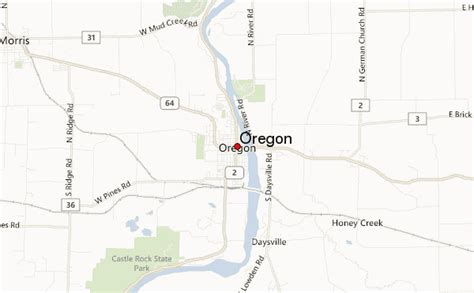 map of oregon illinois oregon illinois location guide