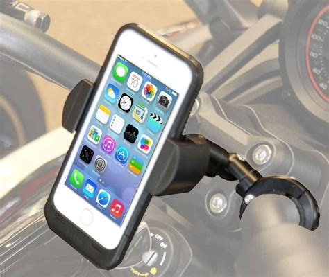 Cbr Smartphone Holder motorcycle handlebar cell phone mount with extension