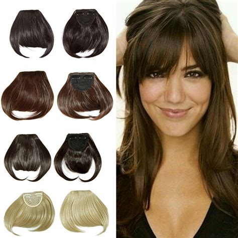 fake bangs clip for thin hair aliexpress com buy clip in bangs fake hair extension