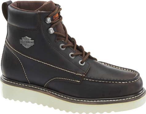 harley davidson work boots for harley davidson s candler motorcycle work boots black