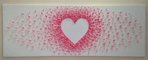 Handmade Paper Butterfly - custom handmade 3d paper butterfly canvas butterflies