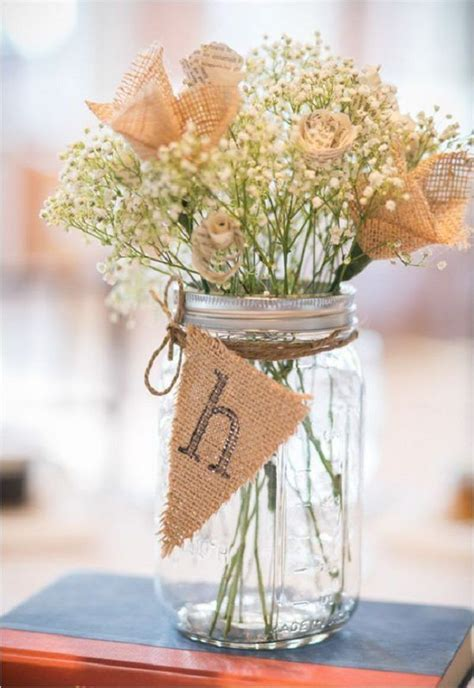 30 rustic wedding ideas with burlap touches burlap