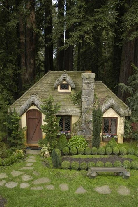 A Cottage In The Woods by Fairytale Abodes 15 Tiny Storybook Cottages Webecoist