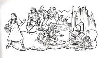 wizard of oz coloring book mardi gras 4