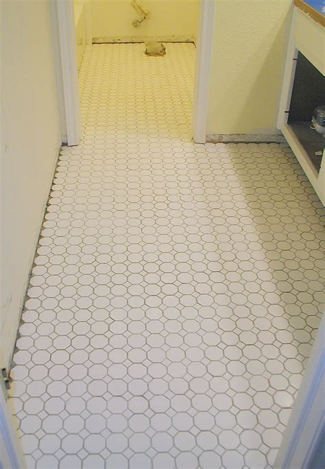 tiling bathroom floor 301 moved permanently