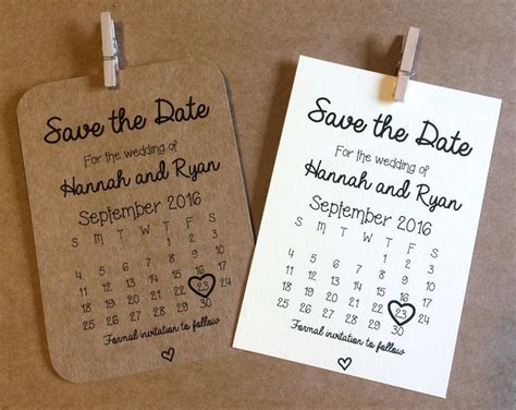 vintage poster wedding save the date card or magnet by feel good