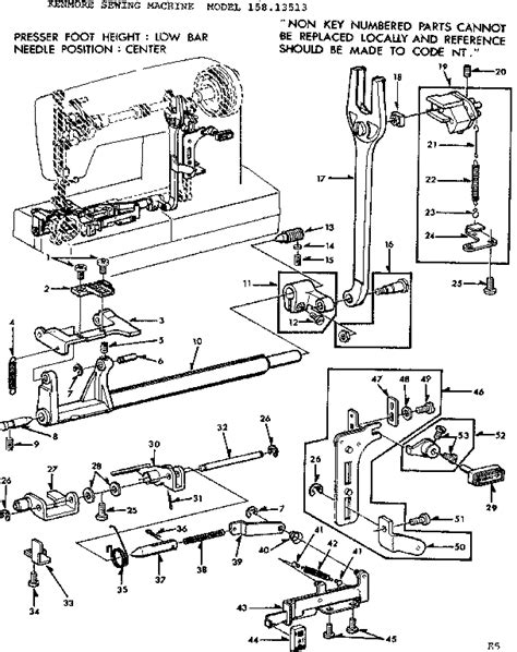 singer sewing machine parts diagram 301 moved permanently