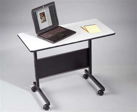 mobile computer desk for home portable computer desks for mobile work