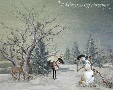 merry scary christmas  simoner  deviantart