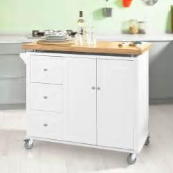bamboo kitchen island sobuy new luxury kitchen island cart kitchen cabinet bamboo top fkw30 wn uk ebay