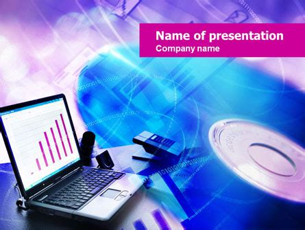 Multimedia Powerpoint Template Backgrounds 00698 Poweredtemplate Com Multimedia Powerpoint Templates