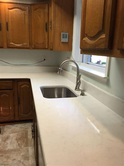Ideas For New Kitchen Finally New Countertops Quartz Viatera Cortina Love