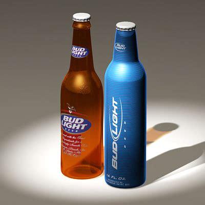 Bud Light Bottles by 3d Budlight Bottles Model