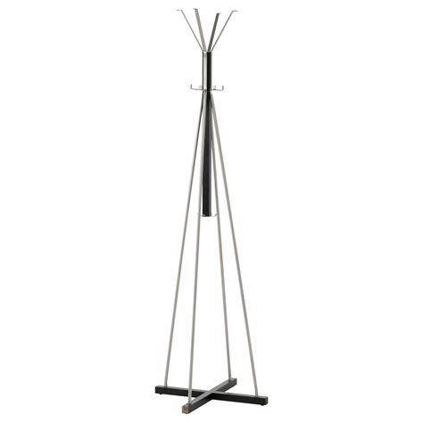 ikea coat racks tjusig hat and coat stand black 193 cm ikea