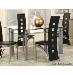 Art Van Dining Room Sets Valencia Glass Dining Table Art Van Furniture