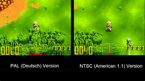 format video pal vs ntsc jurassic park snes pal vs ntsc differences youtube