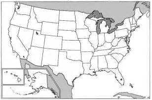 redesse large blank map of usa