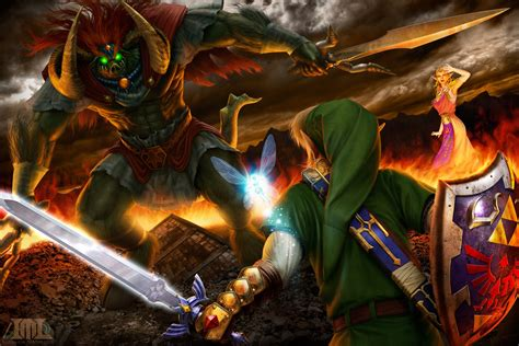 Link Time Fabsugar Want Need 66 by The Legend Of Ocarina Of Time La Batalla