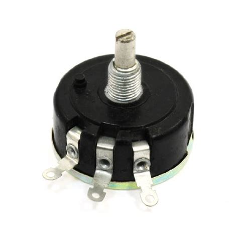 variable resistor terminals uxcell wx111 030 3 terminals variable resistor potentiometer 3w 10k ohm electronics circuit