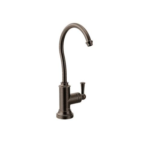 Rubbed Bronze Water Faucet by Faucet S5510orb In Rubbed Bronze By Moen
