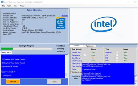 free ram test software 15 best free cpu stress test software for windows