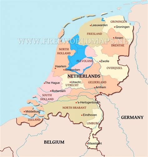 on the map netherland map netherlands on the map western europe