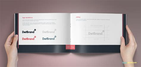 brand book template bundle of 10 brand book templates from zippypixels