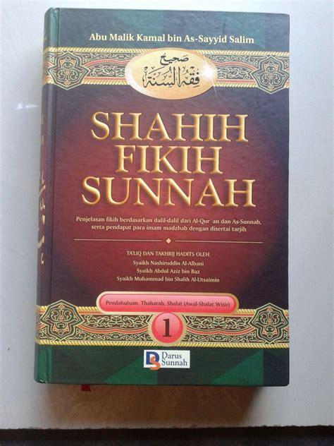 buku shahih fikih sunnah penjelasan fikih berdasarkan