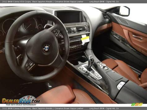 Cinnamon Interior Bmw by Cinnamon Brown Nappa Leather Interior 2012 Bmw 6 Series