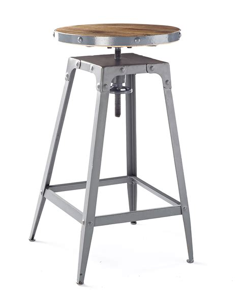 Grey And Wood Bar Stools by Industria Grey Wood Bar Stool