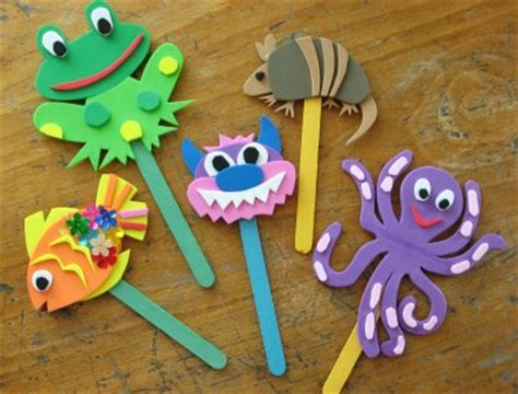 How To Make Paper Puppets At Home - giochi fai da te con i bastoncini di gelati e ghiaccioli