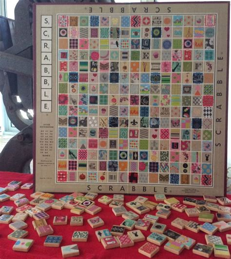 squares on a scrabble board recycled craft turn your scrabble board into