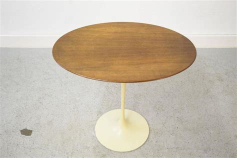 Early Eero Saarinen For Knoll Oval Tulip Side Early Eero Saarinen For Knoll Oval Tulip Side Table For