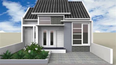 desain rumah minimalis warna abu abu youtube