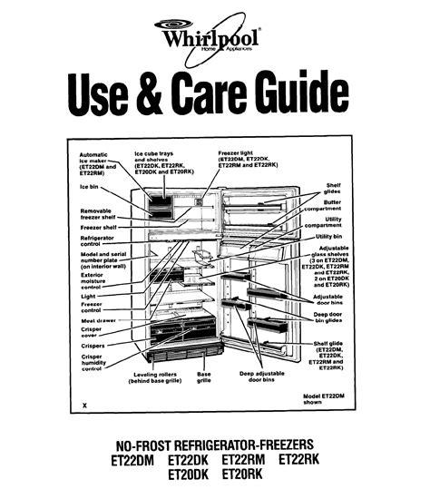 whirlpool gold freezer wiring diagram whirlpool cabrio