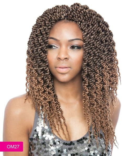 seamlangse twist crochet hair isis afri naptural crochet braid cubic twist 14 inch