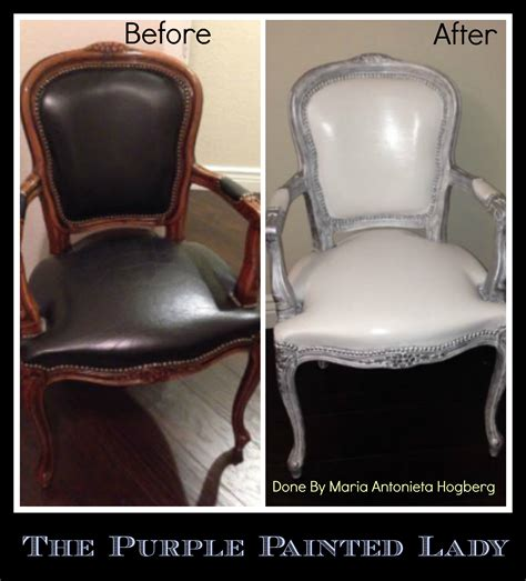 painting a leather couch chalk paint on leather the purple painted lady
