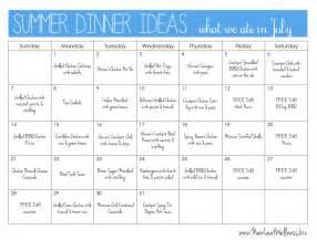 Dinner Menu Ideas by Summer Dinner Ideas New Leaf Wellness