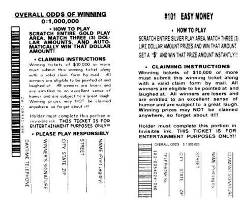 printable fake lottery tickets tnt fake lottery tickets set of two