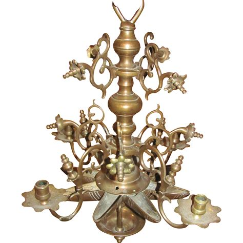 Antique Brass Chandelier Antique Brass Chandelier 17th Century From Flanagan Laneantiques On Ruby