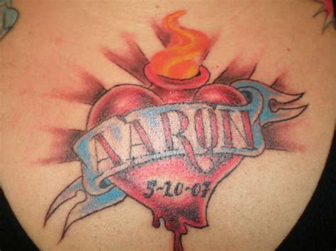 tattoos with kids names for men tattoos for with names