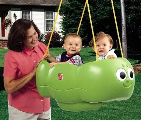 twin swings for babies catapillar twin swing looking babycenter