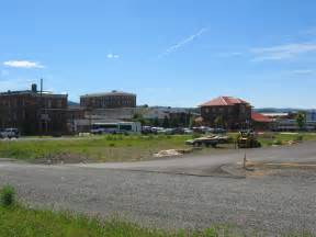 Elkins wv train station from holiday inn express parking lot