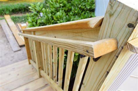 deck handrail caps deck design and ideas